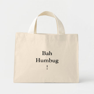 BahHumbug! Mini Tote Bag