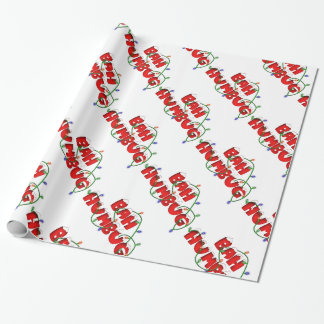 bahhumbug wrapping papper wrapping paper