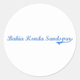 Bahia Honda Sandspur Florida Classic Design Stickers