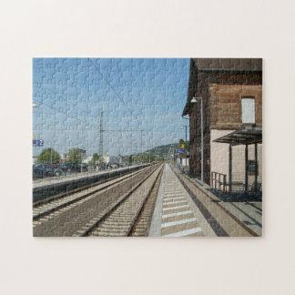 Bahnhof Bruchmuhlbach-Miesau Jigsaw Puzzle