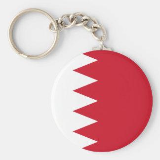 bahrain basic round button key ring