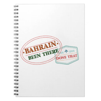 Bahrain Been There Done That Notebook
