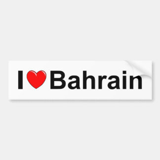 Bahrain Bumper Sticker