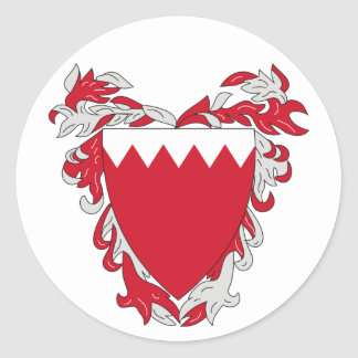 Bahrain Coat of Arms Sticker
