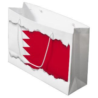 Bahrain Flag Large Gift Bag