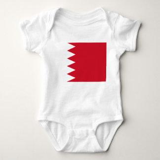 Bahrain National World Flag Baby Bodysuit