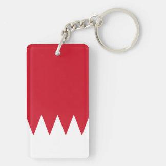 Bahrain National World Flag Key Ring
