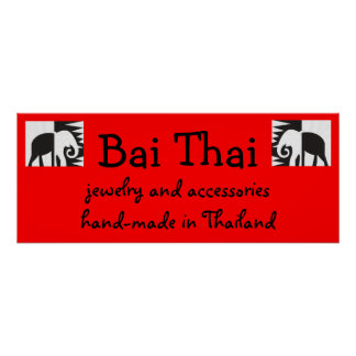 Bai Thai Sign