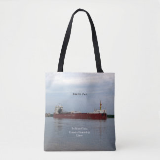 Baie St. Paul Loaded all over tote bag