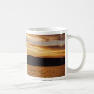 Baikal Sunset 1 Basic White Mug