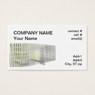Bail bonds business card