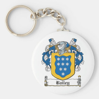 Bailey Family Crest Key Ring