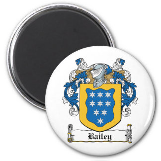 Bailey Family Crest Magnet