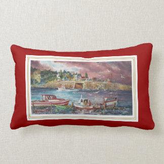 Bailey Island Cribstone Bridge Pillow Cushions