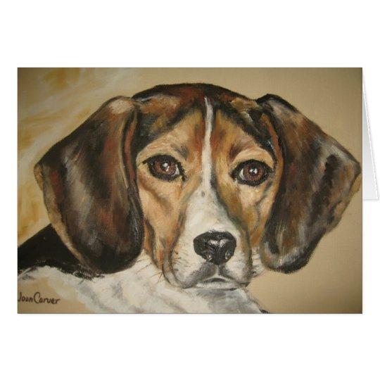 """""""Bailey the Beagle"""" - Card"""