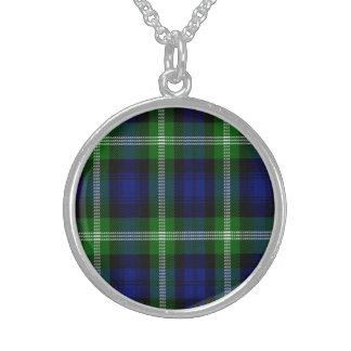 Baillie Scottish Tartan Sterling Silver Necklace