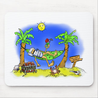 Bailout Beach Mouse Pads