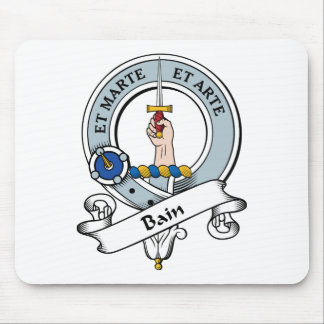 Bain Clan Badge Mouse Pad