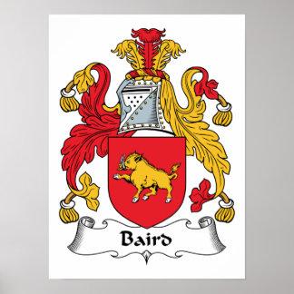 Baird Family Crest Poster