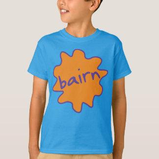 Bairn, Yorkshire, Northern Slang Kids' Tee Shirt