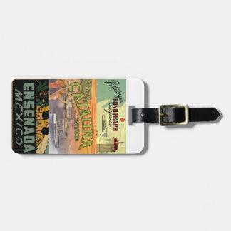 Baja California Cruise luggage tags
