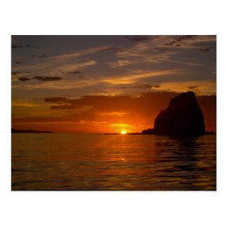 Baja Sunrise 02 Postcard