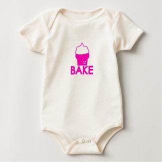 Bake - Cupcake Design Baby Bodysuit