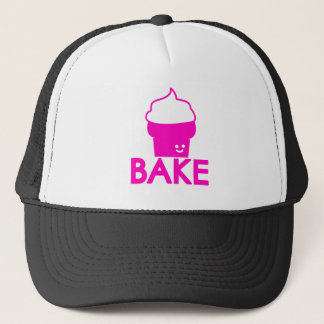 Bake - Cupcake Design Trucker Hat