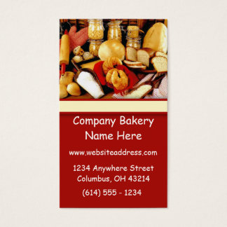 Bake Goods Baking Bakery Chef Business Cards
