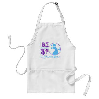 Bake Instead of Punching People Standard Apron