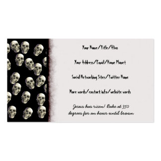 Bake Me A Jesus Double-Sided Standard Business Cards (Pack Of 100)