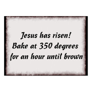 Bake Me A Jesus Large Business Cards (Pack Of 100)