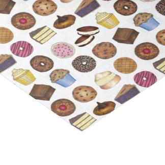 Bake Sale Cookie Cake Pie Donut Brownie Muffin Tissue Paper