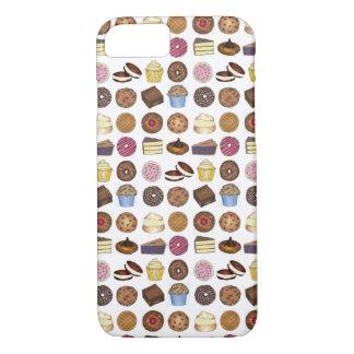 Bake Sale Goods Pastry Chef Cupcake Pie Treats iPhone 8/7 Case