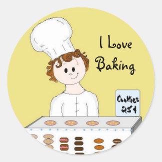 Bake Sale Round Sticker