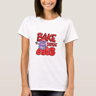 Bake to Defeat ALS Cake Specific T-Shirt