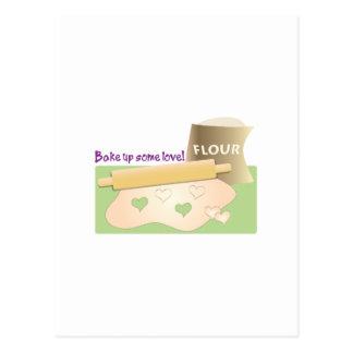 Bake Up Some Love! Postcard