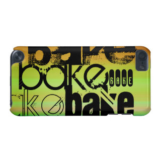Bake; Vibrant Green, Orange, & Yellow iPod Touch (5th Generation) Covers