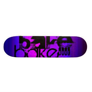 Bake; Vibrant Violet Blue and Magenta Skateboard