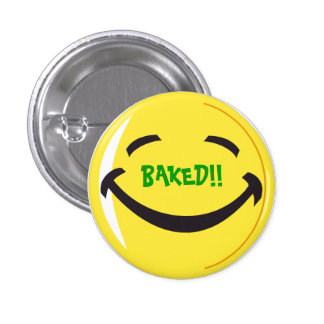 Baked 3 Cm Round Badge