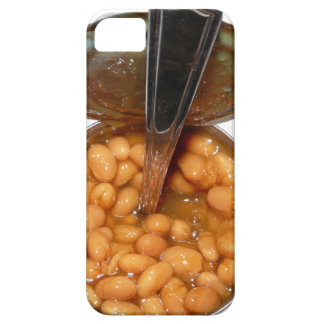 Baked Beans in Tin Can with Spoon Case For The iPhone 5