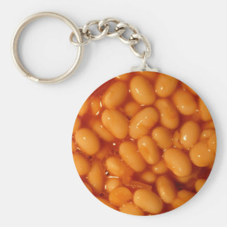 Baked beans key ring