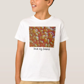 Baked Beans Love My Beans Tee Shirt Kids