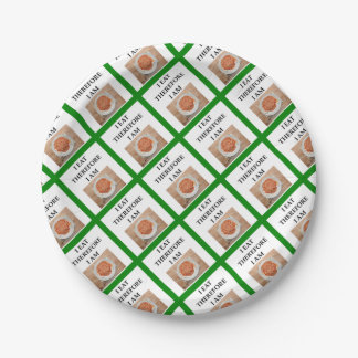 baked beans paper plate