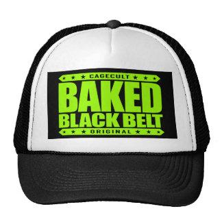 BAKED BLACK BELT - Love Brazilian Jiu-Jitsu, Lime Cap