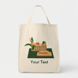 Baked Bread Basket Grocery Tote
