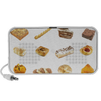 Baked Cakes and Pastries iPhone Speaker