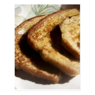 Baked French Toast Recipe Postcard