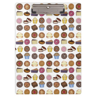 Baked Goods Foodie Muffin Cake Whoopie Pie Cupcake Clipboard