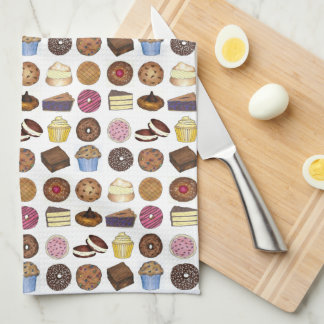 Baked Goods Foodie Muffin Cake Whoopie Pie Cupcake Tea Towel